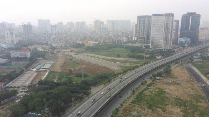 Nút giao Trần Hữu Dực kéo dài - Phạm Hùng, vành đai 3