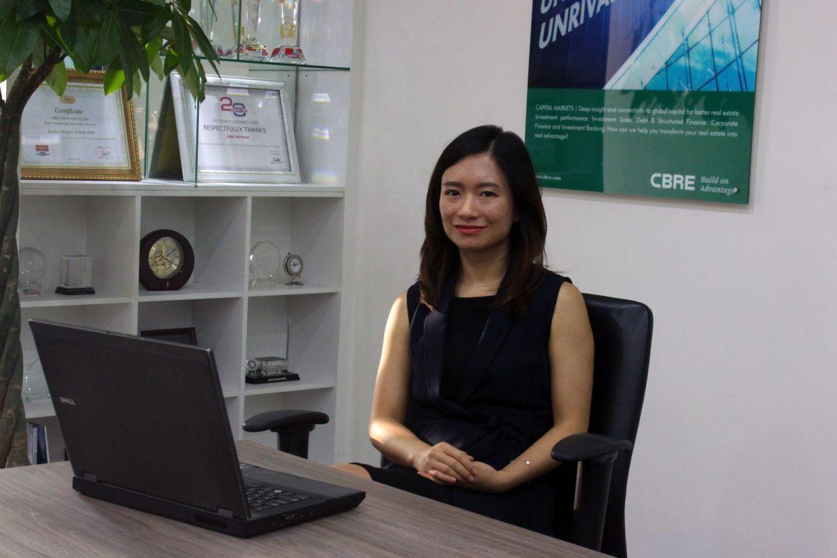 Bà Nguyễn Hoài An, Giám đốc Bộ phận nghiên cứu CBRE Hà Nội